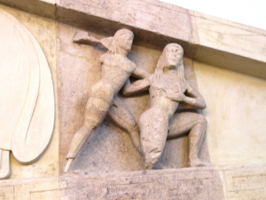 Zeus and Kronos at Corfu